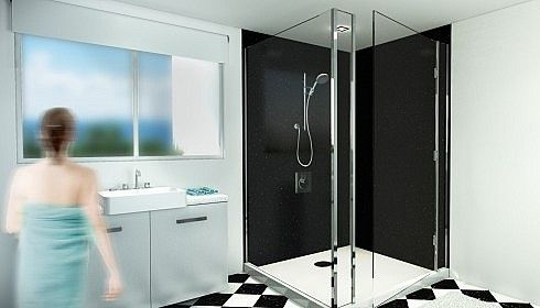 Wetwall Shower Corner Kits