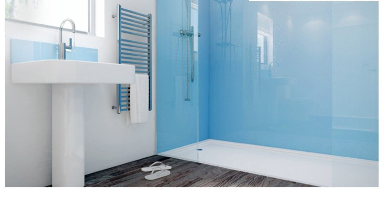 Mermaid Acrylic Shower Panels - Corner Kit