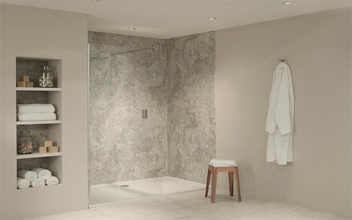 Nuance Alcove Kit F For Large Three Wall Shower Recess