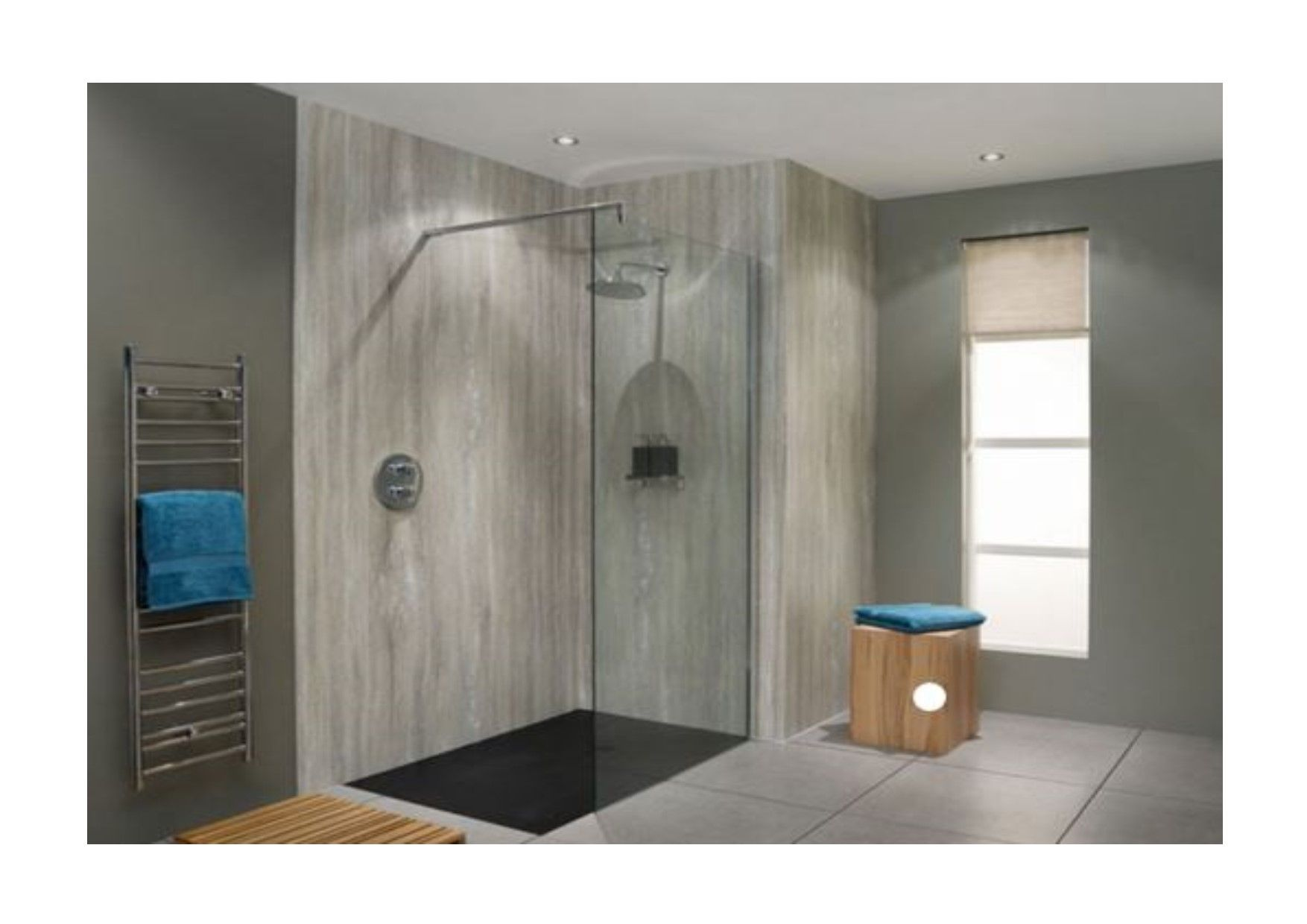 Nuance Kit B - For Shower Enclosures Walk in s or Baths up to 1800mm